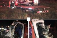 Dos personas fallecidas en un accidente en autopista a la altura de Bell Ville