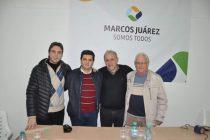 """Coalición entre UV y PJ : """"Marcos Juárez Somos Todos"""""""