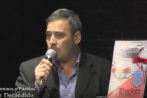 Presentación de la revista Caminos y Pueblos del marcosjuarense Héctor Decándido