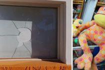 Leones, allanamiento positivo luego de la rotura de la vidriera de un negocio y el robo de un peluche