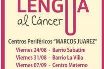Sacale la lengua al cáncer, campaña de detección del cáncer bucal
