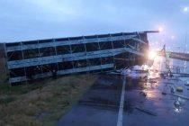 Armstrong: Choque entre dos camiones en autopista con un camionero de Marcos Juàrez