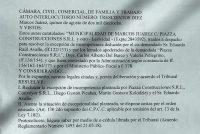 Terrenos del ex predio ferial: Fallo de la Cámara Civil, Comercial