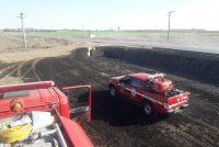 Leones: Dos salidas de Bomberos Voluntarios casi simultaneas por incendios de pastizales