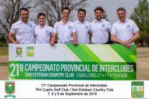 San Martín Golf club Campeón y ascenso a la 2da división