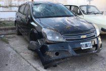 Despiste y vuelco de un automóvil en ruta 12 protagonizado por una persona de Marcos Juàrez