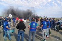 Armstrong: Paro nacional y manifestación de obreros de UOM sobre ruta 9