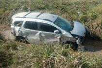 Despiste de un automóvil de alquiler de Leones en San Marcos
