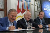 Agua Potable: acuerdo histórico entre Córdoba y Santa Fe
