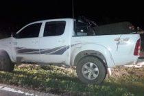 La pick up localizada en Bell Ville pertenecería al robo en predio rural de Francioni de Leones
