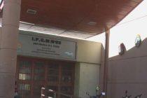 Rotura de un vidrio y daños en la Escuela Republica del Perú de Villa Argentina