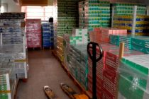 Ocultaron un millonario cargamento de medicamentos entre paredes falsas en San Cristobal