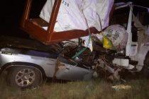 Cañada de Gómez: accidente por alcance en autopista con una persona fallecida