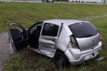 En el automóvil accidentado en General Roca viajaban cuatro Gendarmes y un detenido