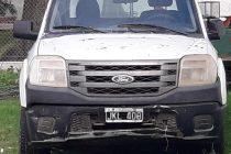 Apagón, robo de 2 mil metros de cables, y operativo policial con el secuestro de una camioneta en zona rural de San Marcos Sud