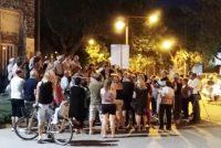 Vecinos autoconvocados reclamaron mayor seguridad en Armstrong