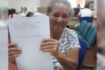 Empleados de Anses hicieron una colecta para ayudar a una mujer que no podía jubilarse