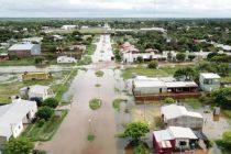 Inundaciones al norte de la provincia de Santa Fe donde cayeron 600 milímetros en 20 días