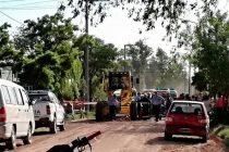 Coronel Moldes: Falleció un niño de cuatro años al ser atropellado por una motoniveladora