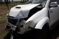 Los detalles del accidente en cadena con cuatro vehículos involucrados