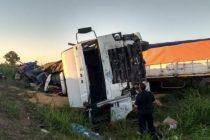Estado de salud del camionero José Antonio Guardia accidentado en ruta 10