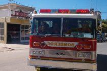 Incendio de vehículo en autopista Córdoba- Rosario