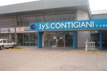 Intento de robo en la firma J y S Contigiani con la detención de un sujeto de Córdoba capital