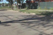 A pocos meses de finalizadas las obras, reclamos de vecinos por hundimiento de pavimento de calle Posta Espinillo
