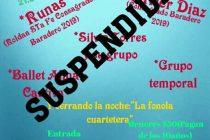 La Peña Celeste y Blanca en Villa Argentina fue re programada para abril