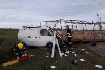Accidente fatal en Laborde