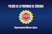 Hechos Policiales de las últimas horas en Marcos Juárez y la región