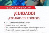Consejos de la  Policía para evitar engaños telefónicos