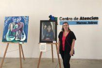 """Lorena Maggi presenta """"Equilibrio en el agua"""" en el Hall del Centro Civico"""