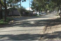 Reclamo de vecina de calle Monetto por el ingreso de agua en su vivienda luego de obras en el sector