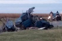 Trágico accidente sobre Ruta 12 a la altura de Huinca