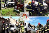 Incendio de un automóvil en desuso en Sáenz Peña este