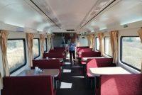 Desde Marcos Juàrez  a Córdoba el recorrido del tren es de ocho horas. El servicio es de primera y la limpieza impecable.