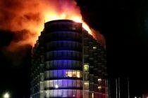 Incendio en un hotel de lujo de Punta del Este con mas de 100 evacuados
